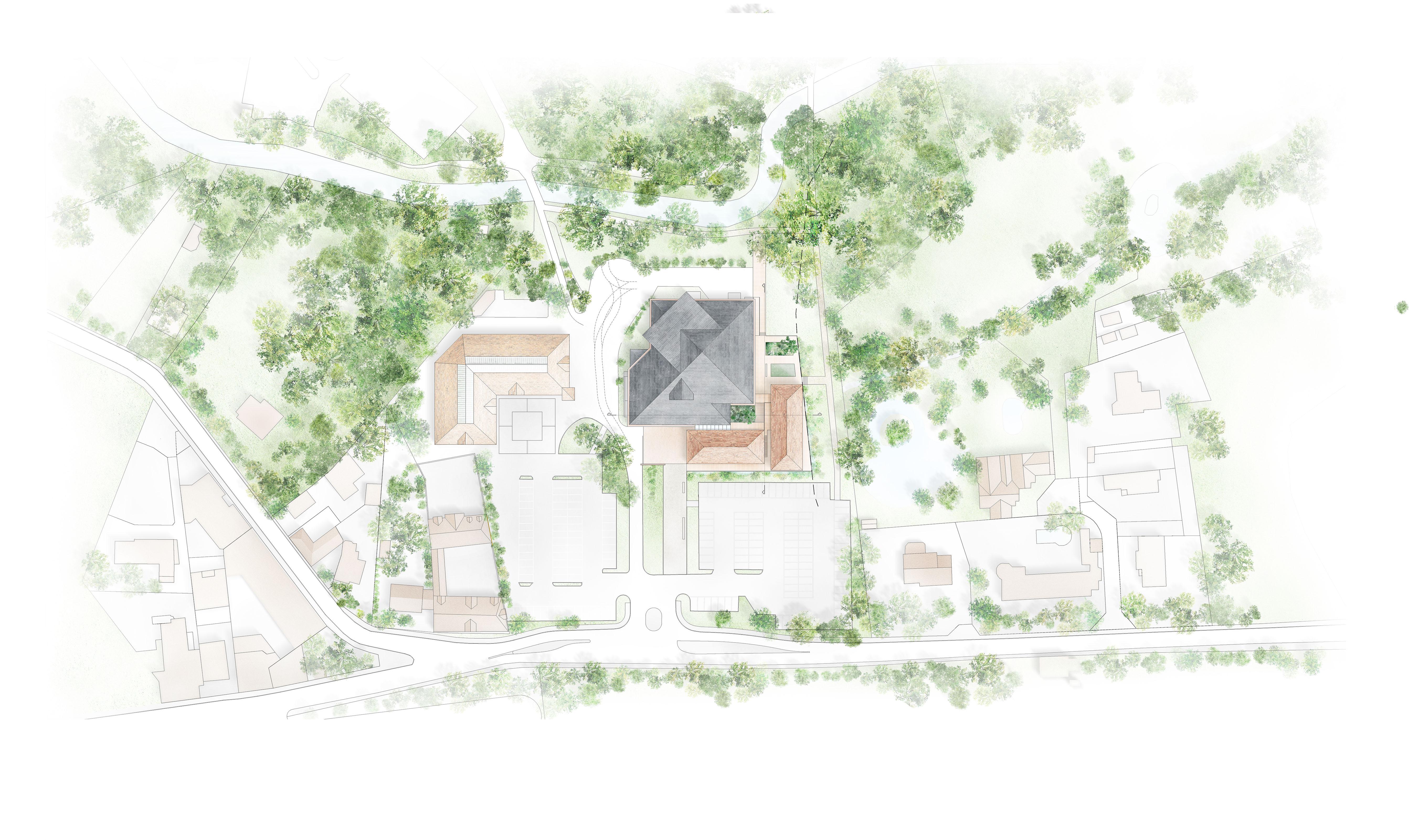 Plan Masse propre Saint Rémy